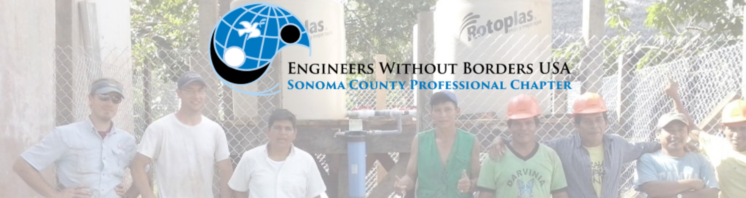 Engineers without Borders – Sonoma County Professional Chapter